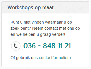 Workshoppen - Workshop creativiteit